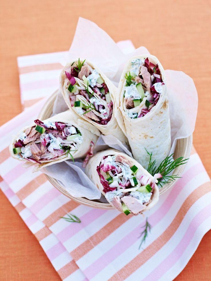 Thunfisch-Wraps - smarter - Zeit: 20 Min. | eatsmarter.de