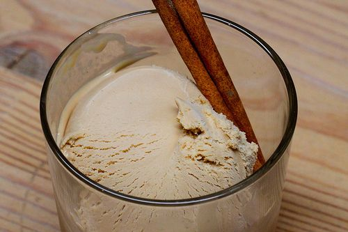 Chai ice cream. | This Kitchen never closes | Pinterest