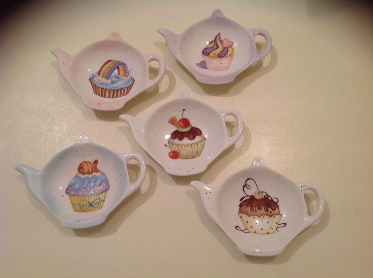 Teneri e porta bustine the con cup cake