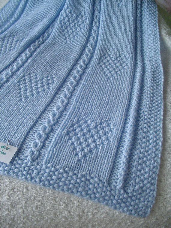 Baby Blanket 13 blu coperta del bambino maglia Baby