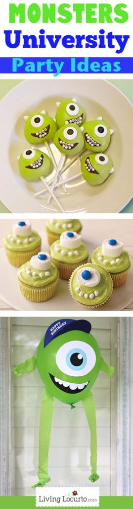 Monsters University Party....just getting into this now....