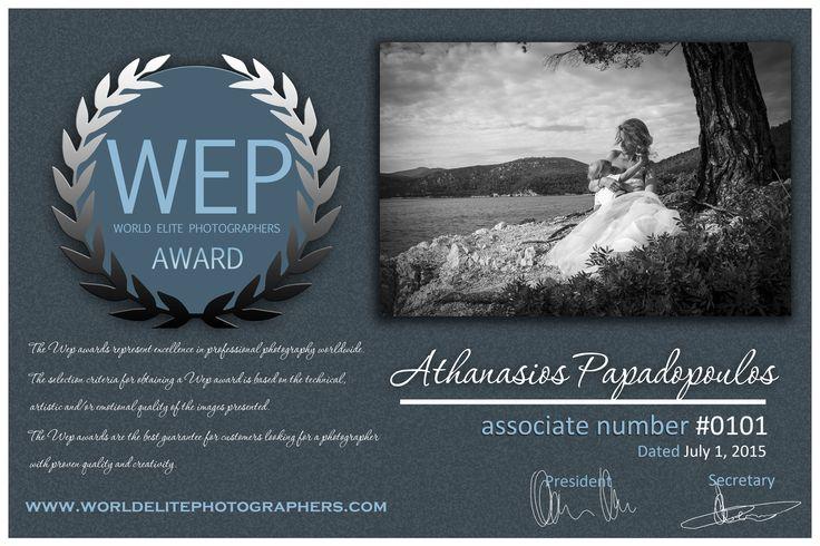 My latest award
