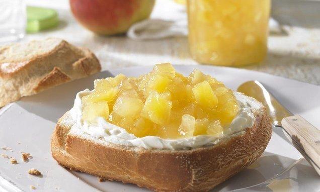 Confettura d'Ananas e Mele Renette (Fruttapec 1:1) Ricetta| cameo