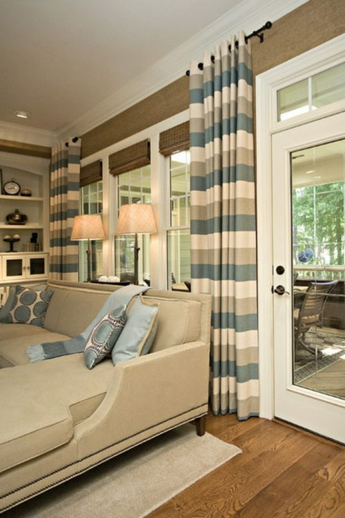 109 besten Vorhänge Bilder auf Pinterest Fenster, Bildwirkerei - vorhange modern wohnzimmer