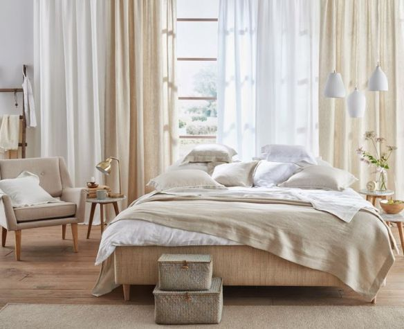 15 best images about dormitorios con encanto on pinterest - Visillos para dormitorios ...