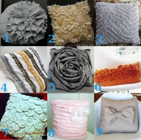 Pillow Design Ideas this site has several links to some amazing diy pillow designs This Site Has Several Links To Some Amazing Diy Pillow Designs