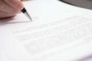 Use this sample car accident private settlement as a template for your formal agreement.