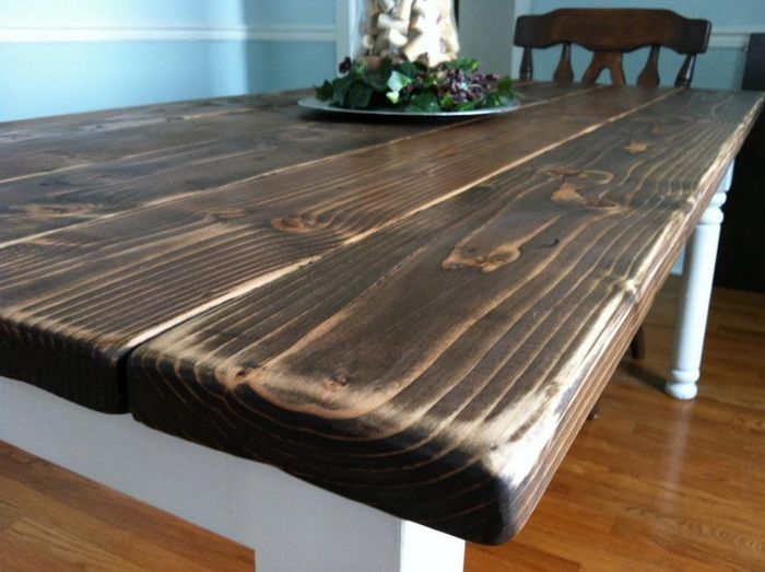 How To Build A Vintage Style Dining Room Table Yourself Diy Pinterest Farmhouse And