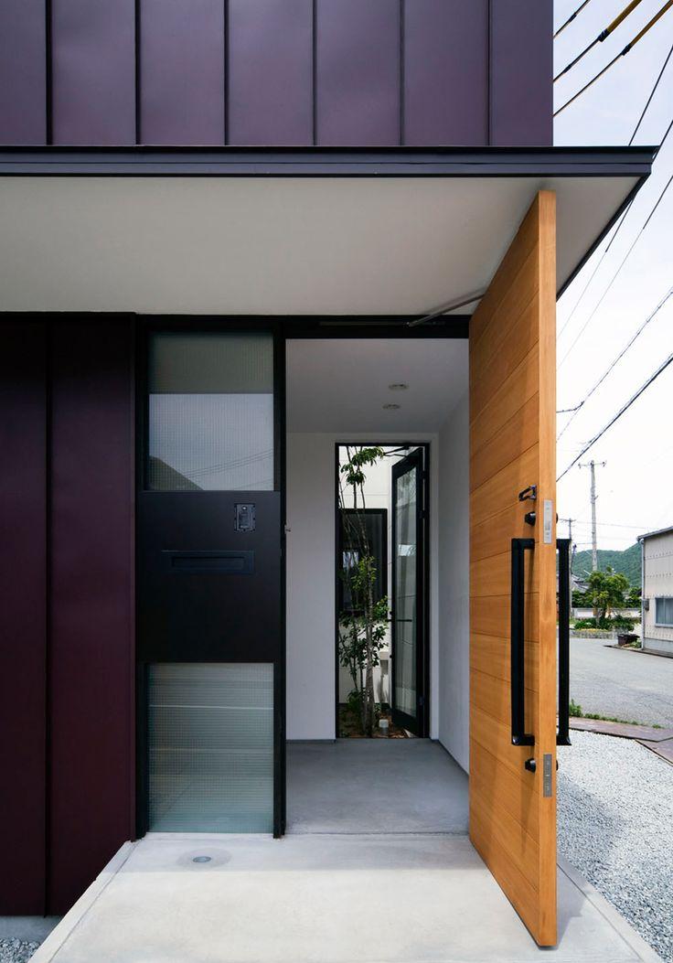 26 Best Entrance Door Images On Pinterest Front Doors Modern