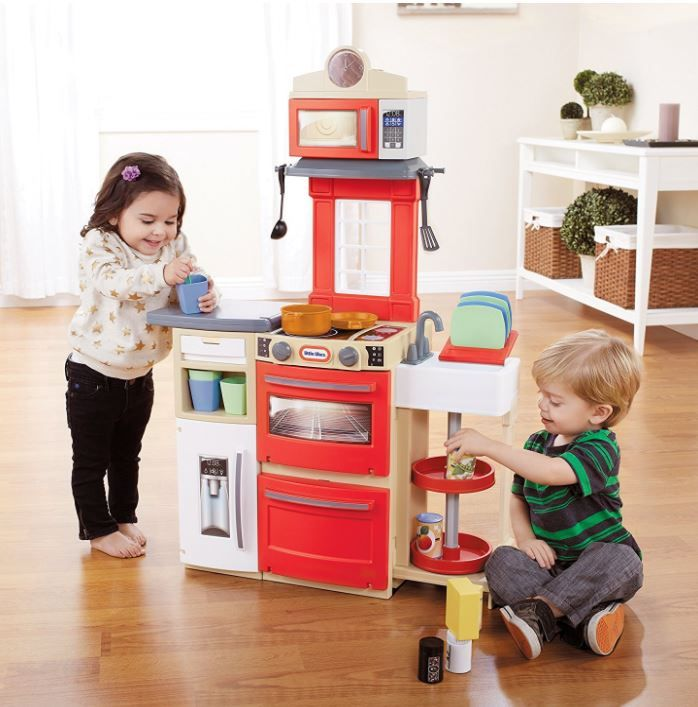 Little Tikes Cook 'n Store Kitchen (Red) (affiliate link)