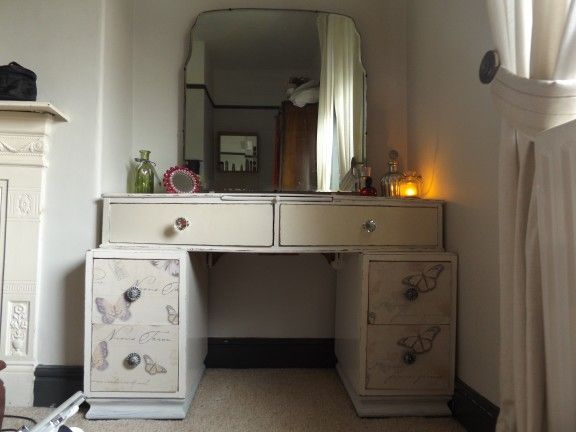 Revamped pre 1930`s dressing table created by Ashleigh Barnes