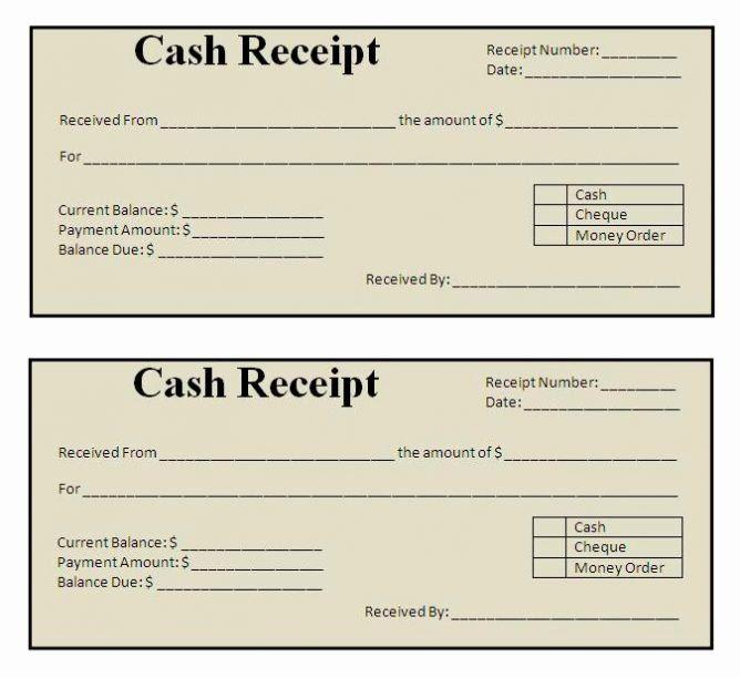 Cash Register Receipt Template Elegant Free Receipt Template Excel Word Printable Free Receipt Template Invoice Template Templates Printable Free