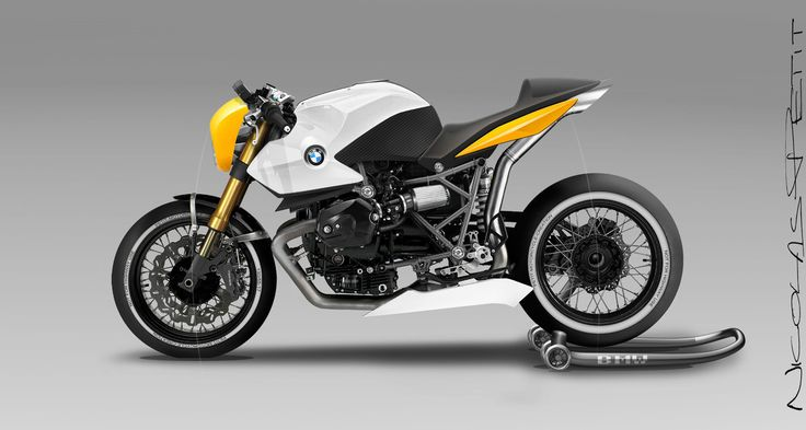 Racing Cafè: Design Corner - Bmw R12 by Petit Motorcycle Crèation