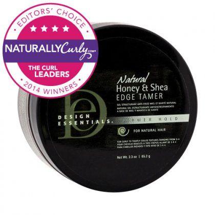 Design Essentials Natural Honey & Shea Edge Tamer for 3 and 4 curl types - CurlMart