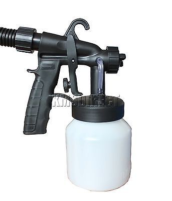 zoom spray gun system electric paint sprayer painting fence fhsg02. Black Bedroom Furniture Sets. Home Design Ideas