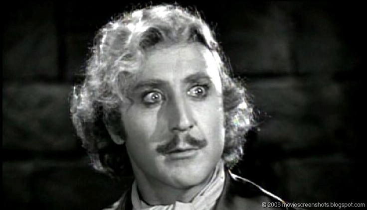 Young Frankenstein (1974) Gene Wilder as Dr. Frederick ...
