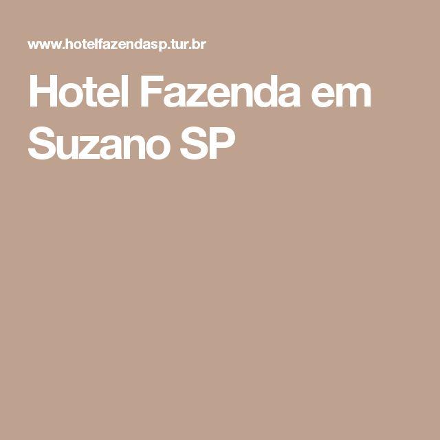 Hotel Fazenda em Suzano SP