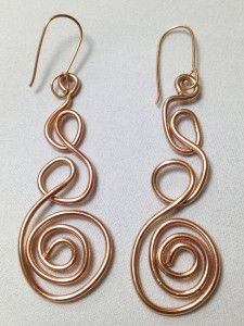 Swirls and Twirls Earrings