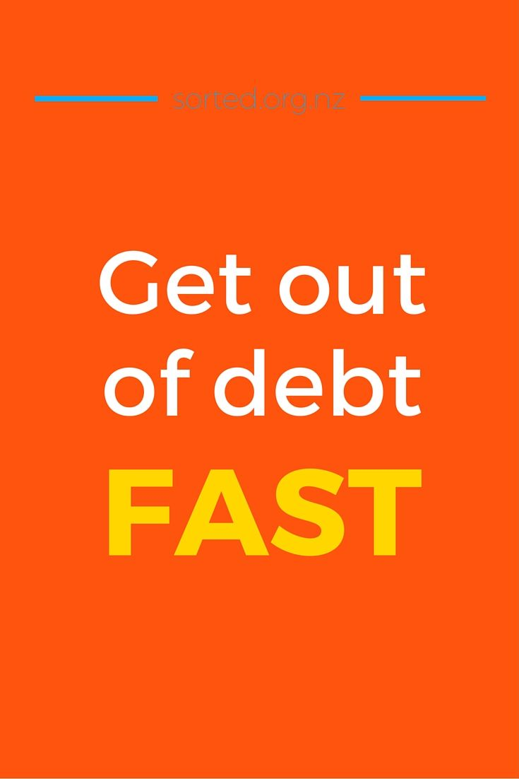 The longer we take to pay off debt, the more it costs us. Want to get out of debt fast? Here's how to pay off debt quicker and become debt-free sooner.