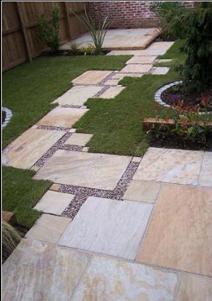 Oltre 25 fantastiche idee su vialetto giardino fai da te - Idee progettazione giardino ...