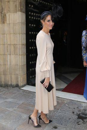 Laura Vecino y su vestido de invitada perfecto