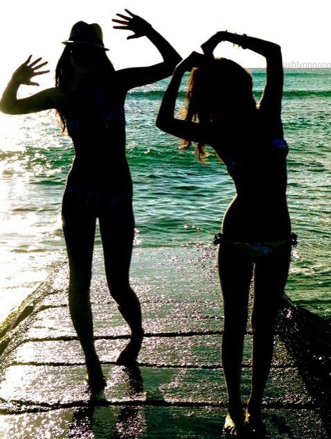 :) my and bff! haha not really.. i wish! we need a pic like thiss!
