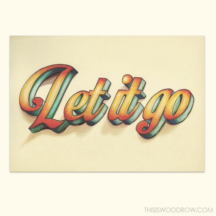 Fun with fonts.  Typography by Jeffery Woodrow