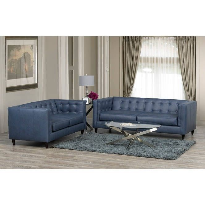 blue leather loveseat best 25 leather sofa and loveseat ideas on pinterest black