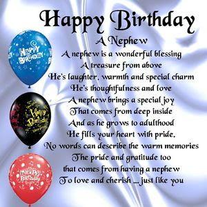 happy birthday wishes for my baby nephew