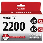 Buy Canon PGI-2200 XL Black Ink Cartridges, (9255B006) High Yield 2/Pack at Staples' low price, or read customer reviews to learn more.