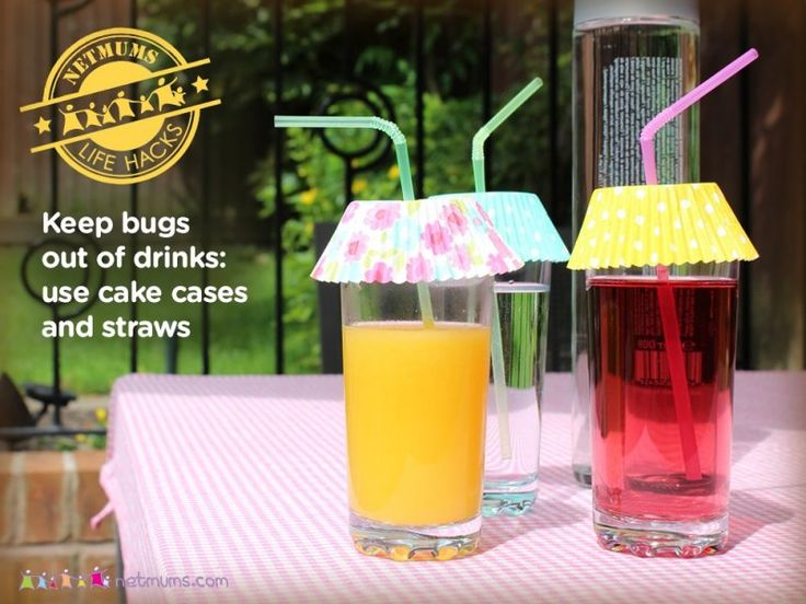 Keep the bugs out of summer drinks image