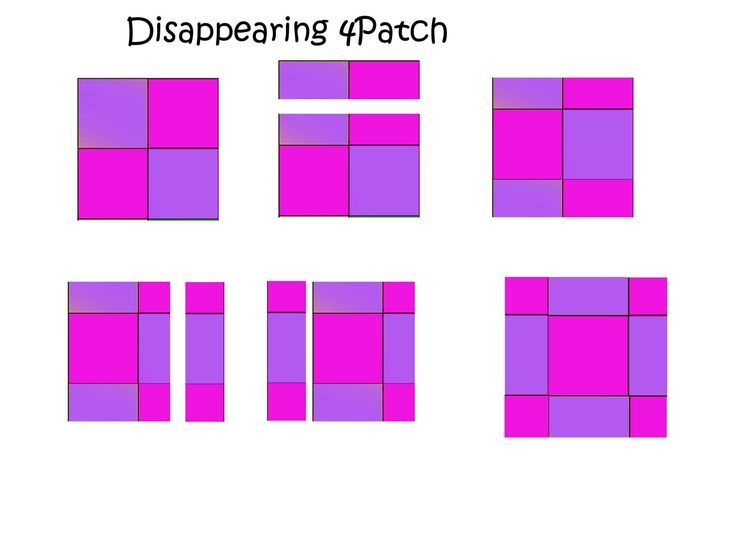 Image result for disappearing four patch