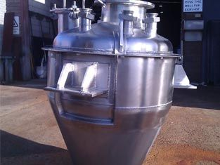 """In the food industry, it's essential that products are reliable and cost-effective. This benefits companies and consumers alike, allowing both parties to get """"more bang for their buck,"""" Call #ldmengineering at (03)95802967for orders  #stainlesssteelribbonblender #stainlesssteelhoppers"""