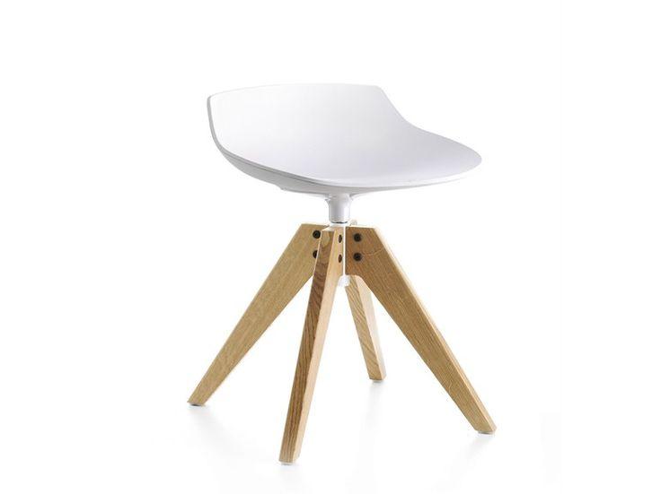 FLOW STOOL Tabouret avec chevalet by MDF Italia design Jean-Marie Massaud