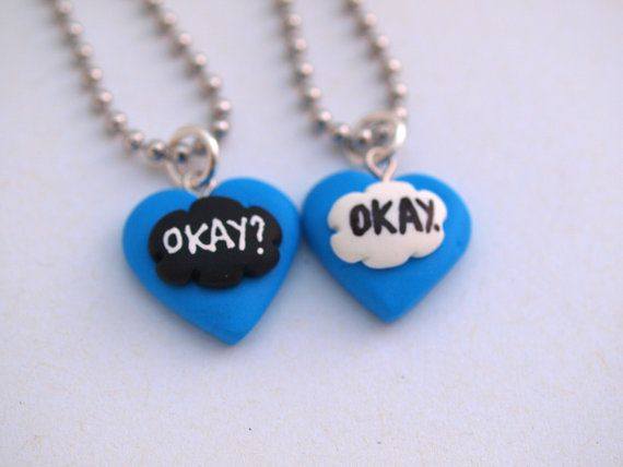 The Fault in Our Stars Inspired Best Friend by MignonnerieShop