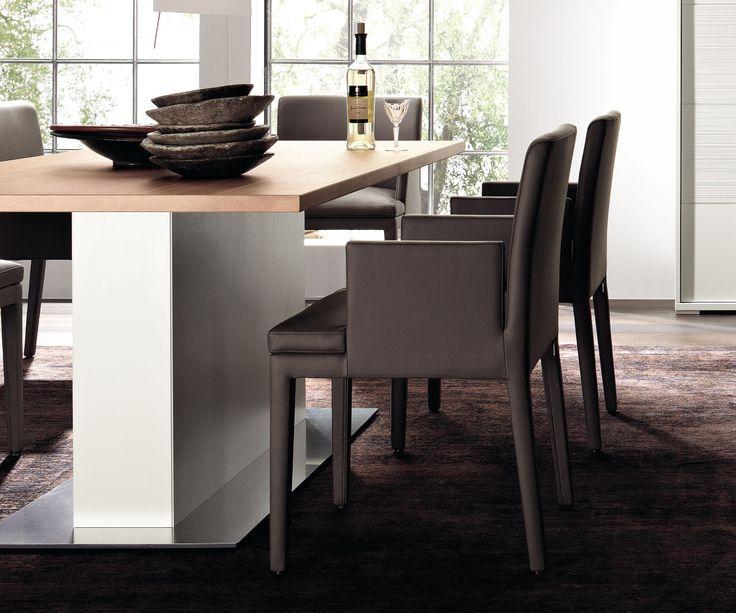 #brown #leather #diningroom #chairs #madebyhuelsta #hulsta