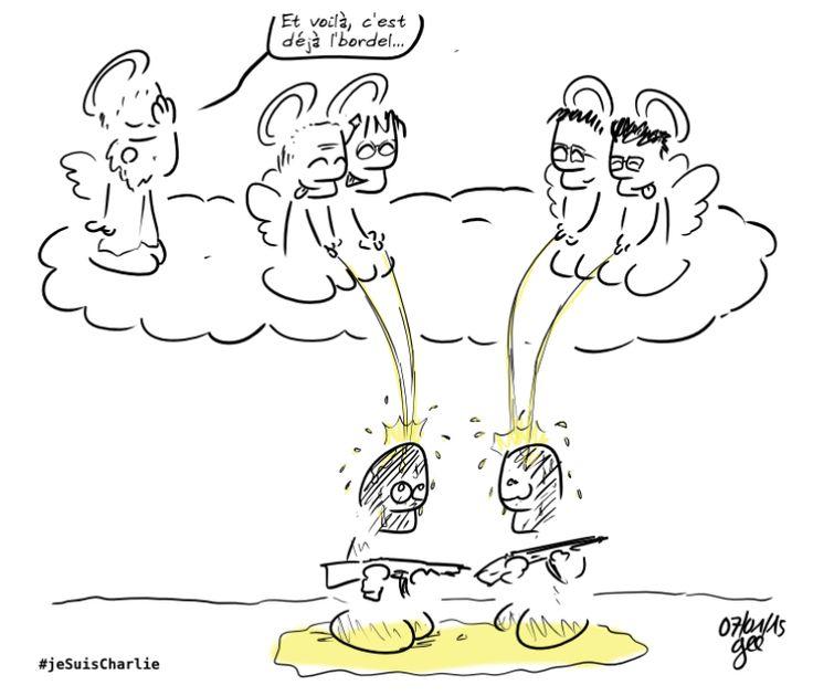 L'hommage des dessinateurs à «Charlie» - Libération