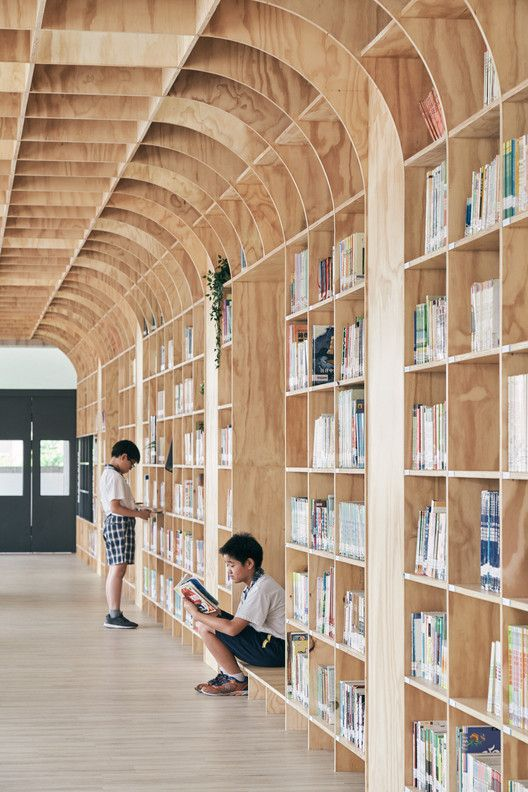 Gallery of Lishin Elementary School Library / TALI DESIGN – 15