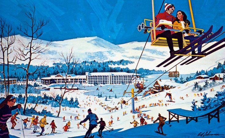 Mount Airy Lodge Ski Area, Mt Pocono, PA
