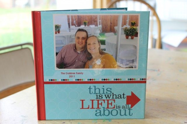 project life shutterfly book