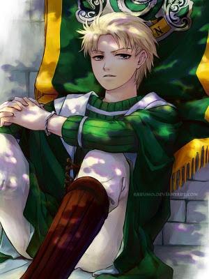 Anime Draco Malfoy :) I LOVE HARRY POTTER BOOK SERIES!