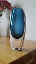 Signed KOSTA BODA vase by Vicke Lindstrand