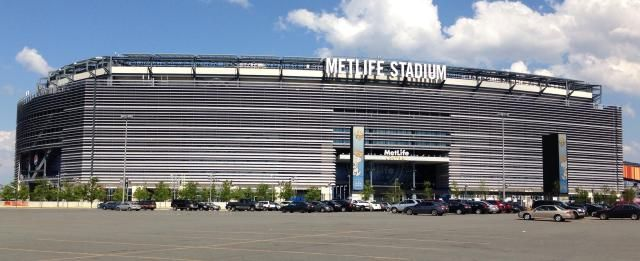 MetLife Stadium, East Rutherford, New Jersey -- Super Bowl XLVIII Stadium http://architecture.about.com/od/greatbuildings/ig/Stadium-and-Arena-Pictures/MetLife-Stadium.htm#step-heading