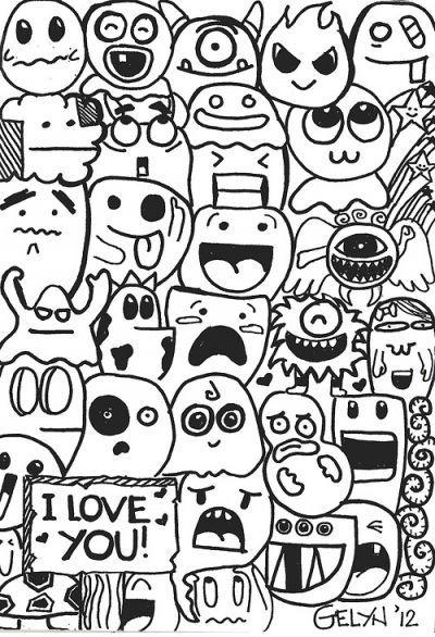 Simple Doodle Google Search Easy Doodle Art Doodle
