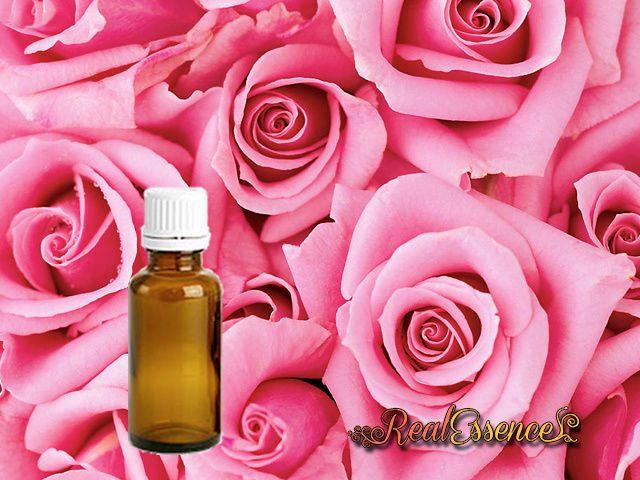 Pure Rose DAMASCENA OTTO Pure Essential Oil AROMATHERAPY in 10 ml amber bottle