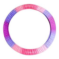 Pastorelli Hoop Cover:  Keep your rhythmic gymnastics hoop safe and sound, even on the go, with this colorful RG Hoop Holder from Pastorelli Sport. The spacious holder can accommodate up to three hoops, great for group events or for extra organization at home or after practice. The gorgeous blend of colors and the shimmering finish make the hoop both stylish and cute. On sale for $45.