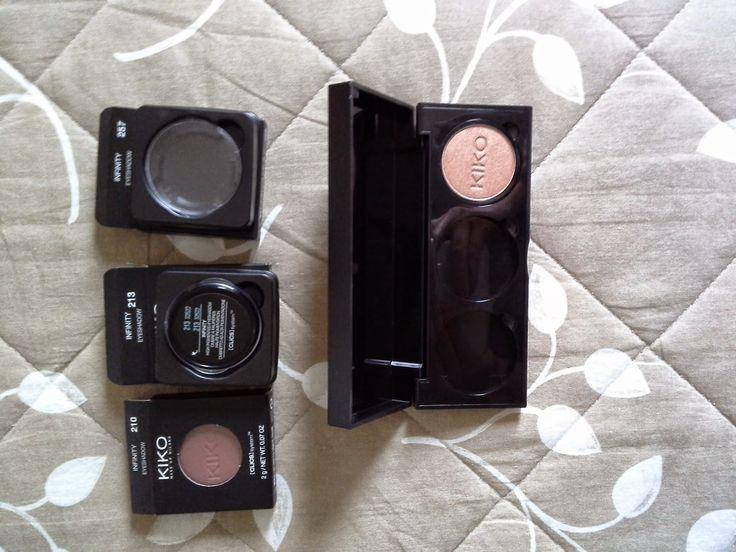 Il Blog di Debora : Kiko Infinity eyeshadows + eyes clics 03