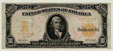 Series 1907 $10 Ten Dollar Gold Certificate Hillegas Note FR #1171  VF     9204