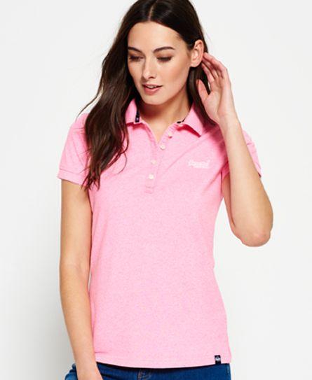 pastel pink   Polo shirt women, Polo shirt, Womens tops