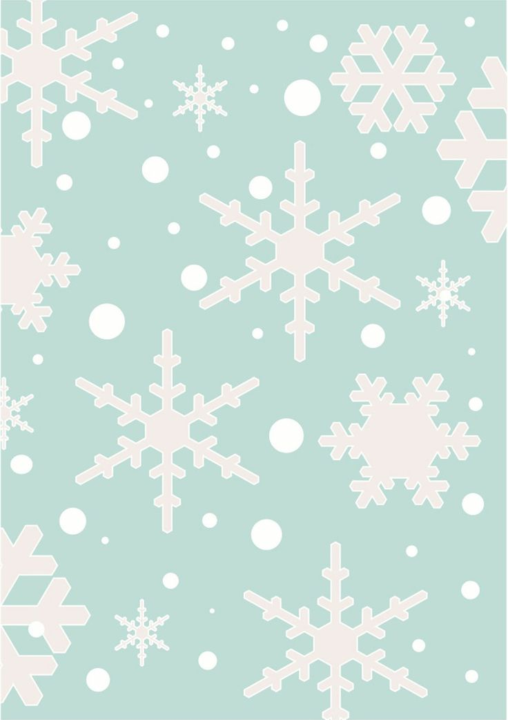 Share it & Receive it with our compliments! Winter Wonderland Snowflakes art print :: http://www.chickduckgoose.com/products/winter-wonderland || *Until February 8, 2014